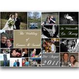 Wedding Collage Canvas