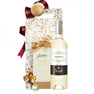 Spanish Delights White Christmas Hamper image