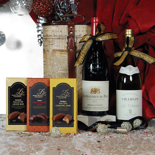 Wine Map Christmas Hamper image