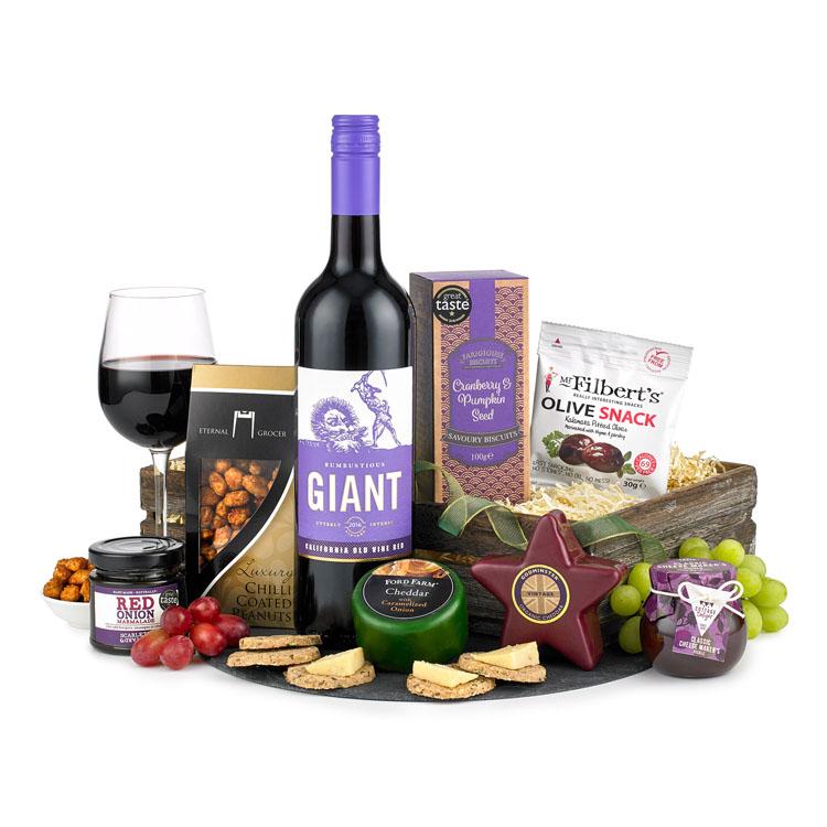 Wine & Cheese Hamper image