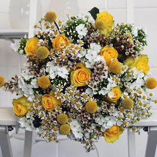 Yellow Mellow Bouquet image