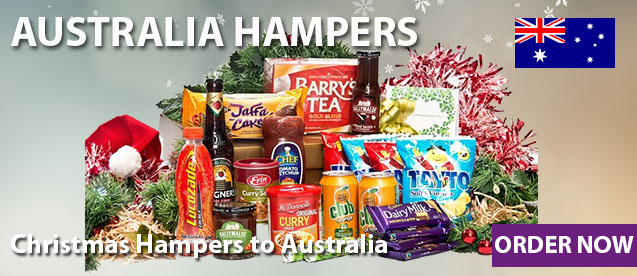 Genuine Irish Hampers With FREE DELIVERY to Australia