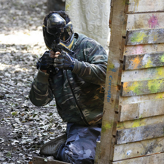 Junior Paintballing for 5 image