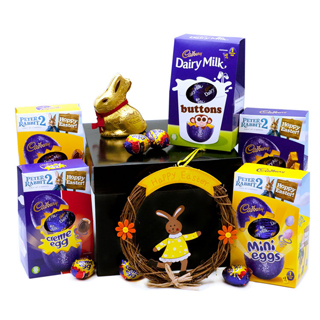 Chocolate Easter Hamper image