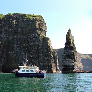 Cliffs of Moher with Boat Cruise image