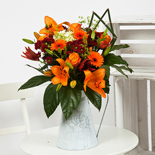 Continental Bouquet (Orange) image