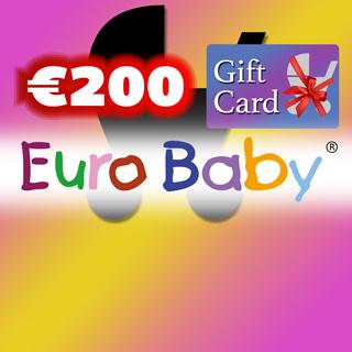 €200 Euro Baby Gift Voucher