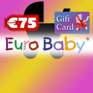 €75 Euro Baby Gift Voucher