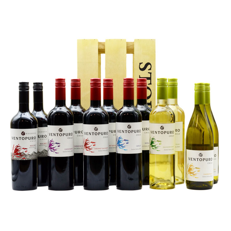 Twelve Chilean Wines Hamper image