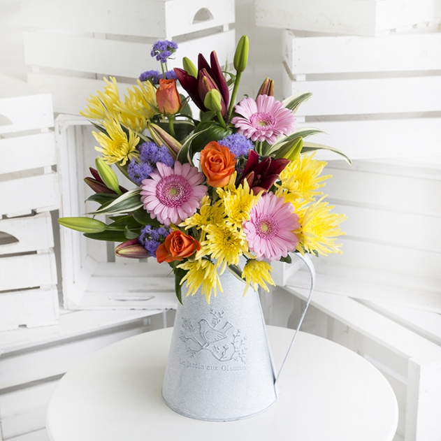 Hot Mix Flower Bouquet image