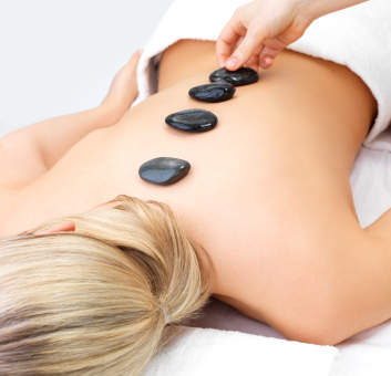 Hot Stone Back Massage image
