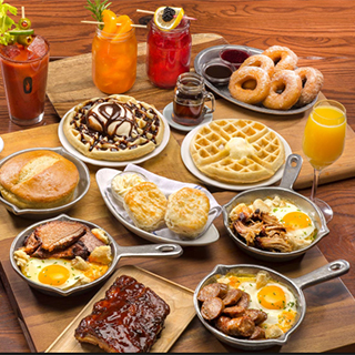 Brunch for 2 Dublin Restaurant Voucher image