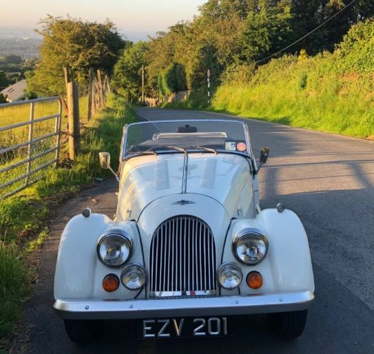 Morgan 4/4 Classic White Half-Day Experience image