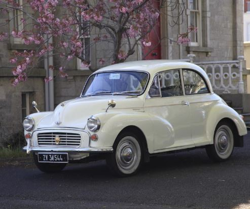 Morris Minor Classic Car Full Day Experience image