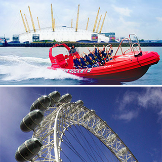 Thames Rocket Powerboating and London Eye image