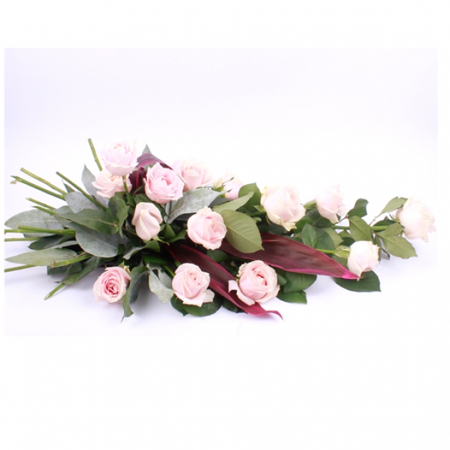 Simple Sympathy Spray Roses Pink image