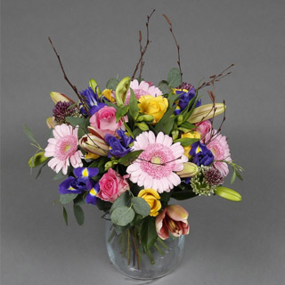 Mothers Day Spring Flowers image