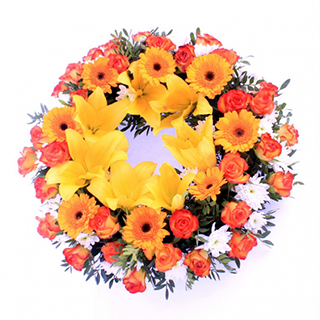Sympathy Wreath image