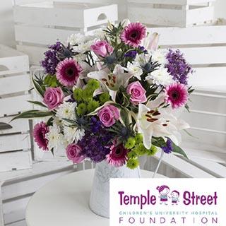 Temple St Hospital Flower Bouquet image