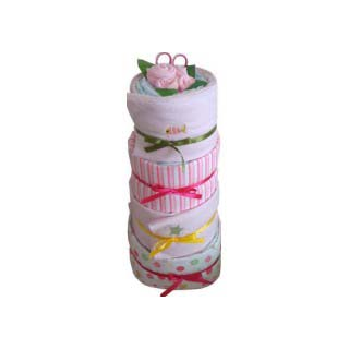 Under the Sea Nappy Cake image