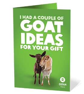 Oxfam Gift of 2 Goats image
