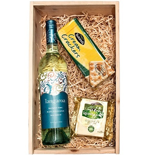 Irish Cheese & Wine Hamper (FREE Delivery to Oz) image